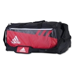 adidas Team Issue Large Duffle Bag (Red)