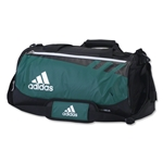 adidas Team Issue Small Duffle Bag (Dark Green)