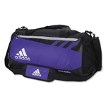 adidas Team Issue Small Duffle Bag (Purple)