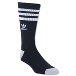 adidas Originals Roller Single Crew Sock (Black/White)