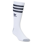 adidas Originals Roller Single Crew Sock (Wh/Black)