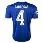 Chelsea 15/16  4 FABREGAS UCL Home Soccer Jersey