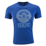 adidas Originals Circle Trefoil Graphic T-Shirt (Blue)