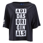 adidas Originals Women's AO T-Shirt (Black)