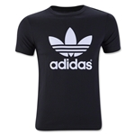 adidas Originals Youth Trefoil T-Shirt (Black)