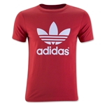 adidas Originals Youth Trefoil T-Shirt (Red)