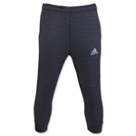 adidas 3/4 Tapered Lightweight Fleece Pant (Black)