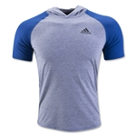 adidas Ultimate Hooded T-Shirt (Gray)