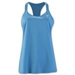 adidas Women's 3-Stripes Performer Tank (Blue)