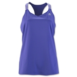 adidas Women's 3-Stripes Performer Tank (Purple)