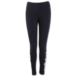 adidas Women's Cotton Logo Legging (Black)