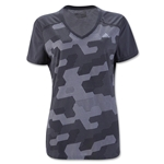 adidas Women's Ultimate Camo T-Shirt (Dk Gray)