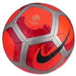 Nike Strike Premium Ball (Bright Crimson/Silver)