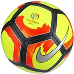 Nike Pitch Ciento Ball (Volt/Total Crimson)