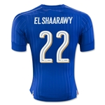 Italy 2016 EL SHAARAWY Authentic Home Soccer Jersey