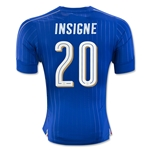 Italy 2016 INSIGNE Authentic Home Soccer Jersey