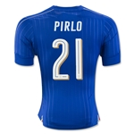 Italy 2016 PIRLO Authentic Home Soccer Jersey