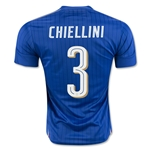 Italy 2016 CHIELLINI Home Soccer Jersey