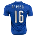 Italy 2016 DE ROSSI Home Soccer Jersey