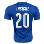 Italy 2016 INSIGNE Home Soccer Jersey