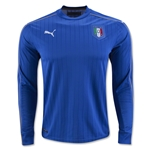 Italy 2016 LS Home Soccer Jersey