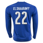 Italy 2016 EL SHAARAWY LS Home Soccer Jersey