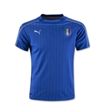 Italy 2016 Youth Home Soccer Jersey