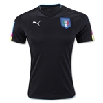 Italy 2016 Goalkeeper Jersey (Black)