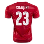 Switzerland 2016 SHAQIRI Home Soccer Jersey
