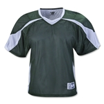 Warrior Fusion Reversible Game/Practice Jersey (Dk Gr/Wht)