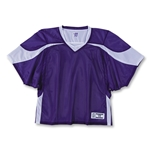 Warrior Fusion Reversible Game/Practice Jersey (Pur/Wht)