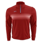 Under Armour Qualifier Novelty 1/4 Zip Jacket (Red)