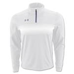 Under Armour Qualifier Novelty 1/4 Zip Jacket (White)