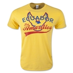 Ecuador Banner T-Shirt (Yellow)