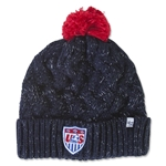 USA Women's Cuff Knit Beanie