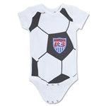 USA Soccer Ball Infant Onesie