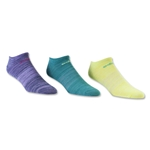 adidas Women's Superlite Six Pack No Show Sock (Heathers)
