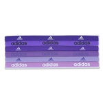 adidas Fighter Six Pack Hairband (Purple)