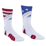 adidas Traxion Impact Stars and Stripes Crew Sock