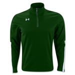 Under Armour Qualifier 1/4 Zip Training Top (Dark Green)