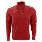 Under Armour Qualifier 1/4 Zip Training Top (Red)