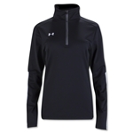 Under Armour Qualifier 1/4 Zip Women's Training Top (Black)