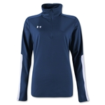 Under Armour Qualifier 1/4 Zip Women's Training Top (Navy)