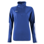 Under Armour Qualifier 1/4 Zip Women's Training Top (Royal)