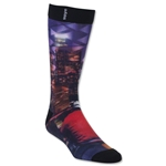 adidas Neo Sublimated City Lights Single Crew Sock