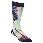 adidas Neo Sublimated Palms and Poppies Single Crew Sock