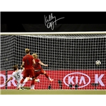 Kelley O'Hara Signed WWC USA Goal vs Germany 8x10 Photo