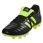 adidas Gloro FG (Black/Solar Yellow)