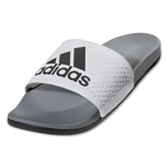 adidas adilette SC Plus Sandal (White/Iron Metallic)