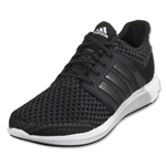 adidas Solar Boost Running Shoe (Black/Black/Clear Onyx)